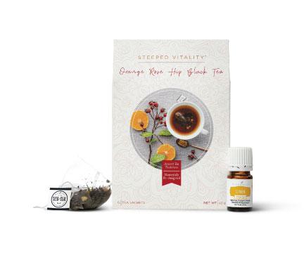 Orange Rose Hip Black Tea – 15 sachets